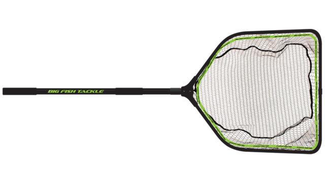 Подсачник с прорезиненной сеткой BFT XL Monster Net, размер 90x80x85. ручка 1,1-2м (11-FNET-4, )