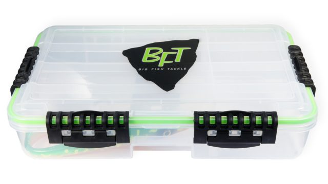 Коробка глубокая водонепроницаемая под крупный силикон BFT Betesbox Big Rubber (36x22x8см) (11-BFT-BOX6, )