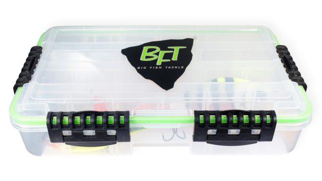 Коробка глубокая водонепроницаемая для джербейтов BFT Betesbox JerkBait (36x22x8см) (11-BFT-BOX5, )