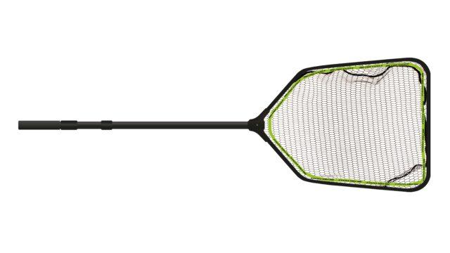 Подсачник с прорезиненной сеткой BFT Medium Net, размер 50x60см, ручка складная до 1,4м (11-FNET-5, )
