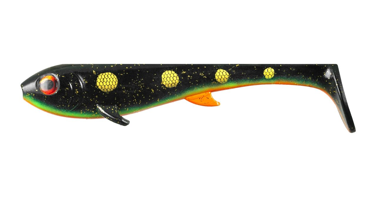 Приманка силиконовая XXL EASTFIELD Wingman 21см 80гр, Black Perch (EFLW049, )