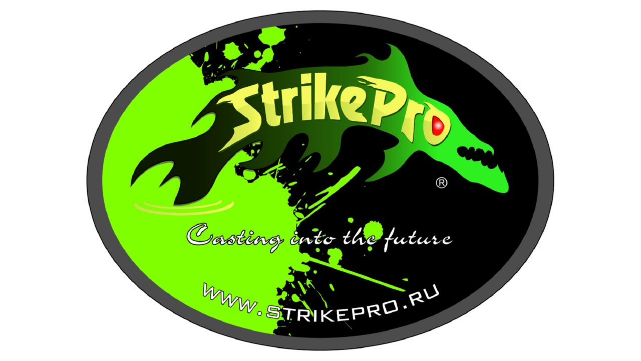 Наклейка STRIKE PRO (11х8cm) (STRIKE BLACK, )