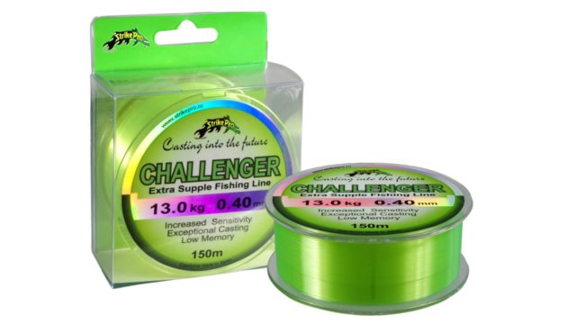 Леска Strike Pro Challenger лимонная 0,40mm 13,0kg 150m (, )