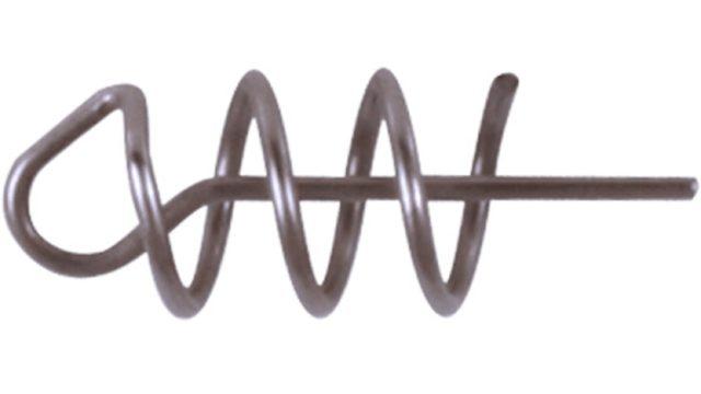 Штопор для силиконовых приманок Strike Pro №0 10мм/2,5мм, нить 0,4мм 10шт. (SPSS-10#0, )