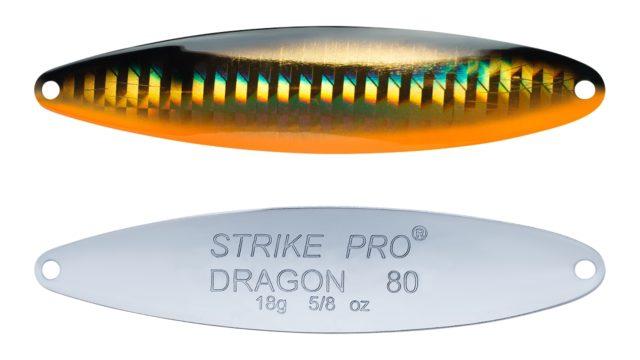 Блесна колеблющаяся Strike Pro Dragon Treble 80M тройник, 18.0гр, 8.0см (ST-07F#613-713-CP, )