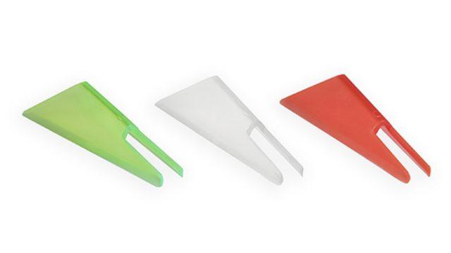 Хвосты для балансира размер M (красный, прозрачный, желтый) 9 штук (IFT-M, )