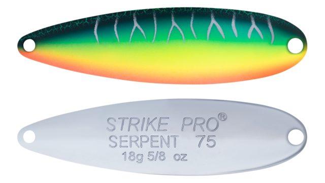 Блесна колеблющаяся Strike Pro Serpent Single 65M одинарник-незацепляка, 14.0 гр, 6.5 см (ST-010AS#A223S-RP-CP, )