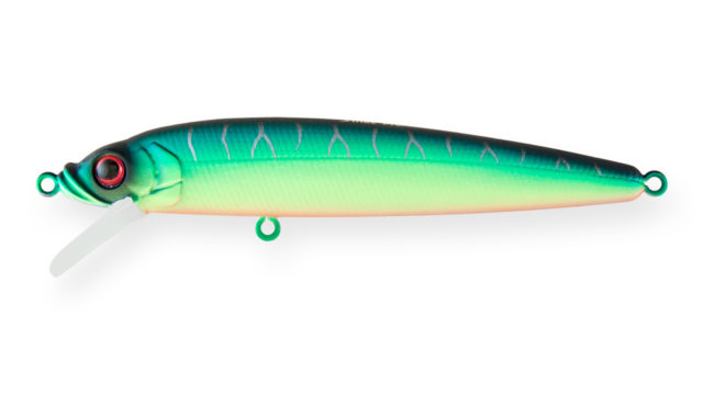 Минноу Strike Pro Alpha Minnow 95 A204S (EG-034F#A204S, 95 мм, 9 гр, плавающий, 0.6-1.6 м)