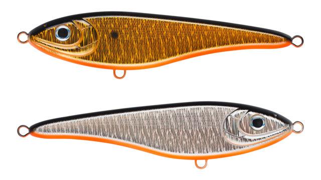 Джеркбейт Strike Pro Big Bandit SP A70-613-SBO (EG-078SP#A70-613-SBO, 195 мм, 90 гр, нейтральный, 0.3-1.5 м)