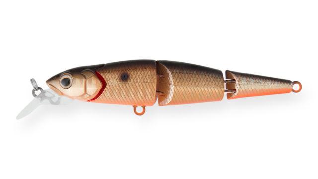 Воблер составной Strike Pro Flying Fish Joint 110 613-713 (EG-079J#613-713, 112 мм, 19.5 гр, тонущий, 1.7-3 м)