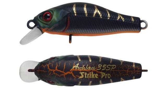Минноу Strike Pro Archback 35SP A208S (EG-125E-SP#A208S, 35 мм, 2.2 гр, нейтральный, 0.1-0.3 м)