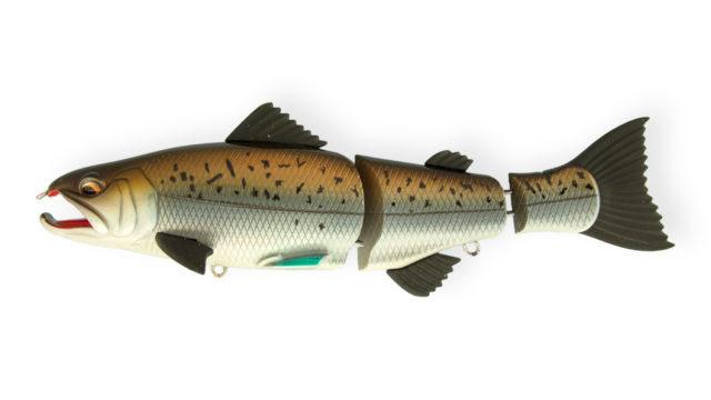 Свимбейт Strike Pro Salmonid Minnow 969T (EG-154S#969T, 150 мм, 43 гр, тонущий, 1-4 м)