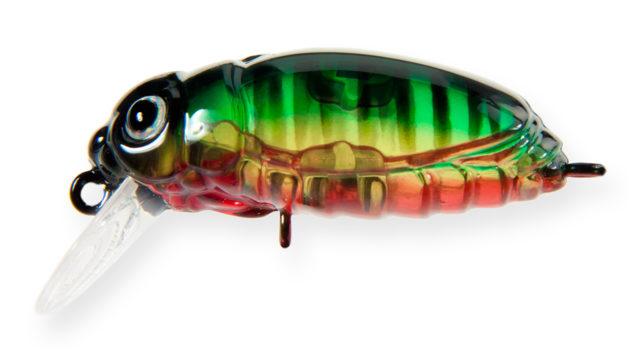 Крэнк Strike Pro Beetle Buster 40 A102G (EG-174F#A102G, 40 мм, 5.7 гр, плавающий, 0.2-0.7 м)