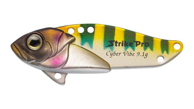 Блесна-цикада Strike Pro Cyber Vibe 65 788E (JG-005E#788E, 65 мм, 26 гр, тонущий)