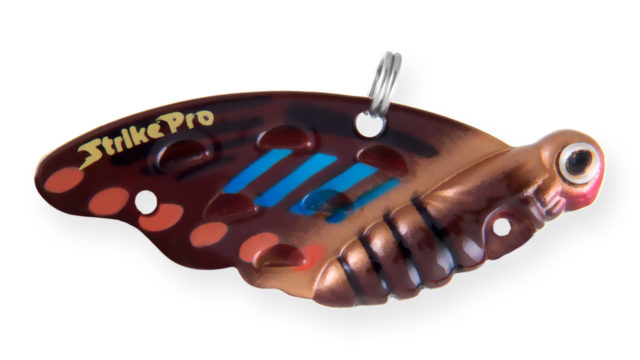Блесна-цикада Strike Pro Farfalla 22 877 (JG-007B#877, 40 мм, 7.2 гр, тонущий)