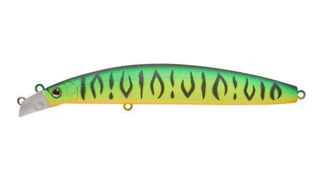 Минноу Strike Pro Top Water Minnow Long Casting 130 GC01S (JL-177F#GC01S, 130 мм, 21.4 гр, плавающий, 0.1-0.7 м)