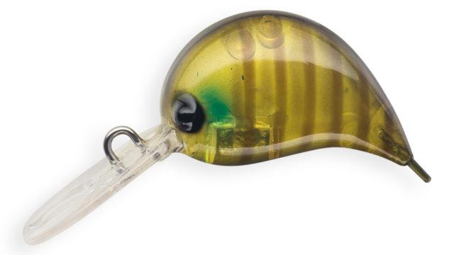 Воблер Strike Pro Nuts-S медленно тонущий 2,5 см 2,6 гр Загл. до 1,0м (JS-310#655G, 2.6 гр, медленно тонущий, 1 м)