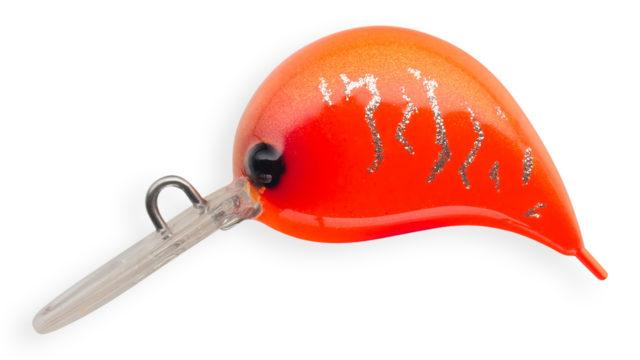 Воблер Strike Pro Nuts-S медленно тонущий 2,5 см 2,6 гр Загл. до 1,0м (JS-310#884F, 2.6 гр, медленно тонущий, 1 м)