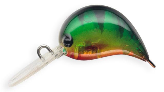 Воблер Strike Pro Nuts-S медленно тонущий 2,5 см 2,6 гр Загл. до 1,0м (JS-310#A102G, 2.6 гр, медленно тонущий, 1 м)