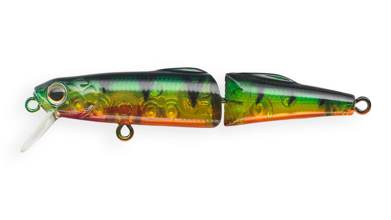 Воблер составной Strike Pro Magnum Loach 70 A102G (JS-393#A102G, 70 мм, 7 гр, тонущий, 1.5 м)