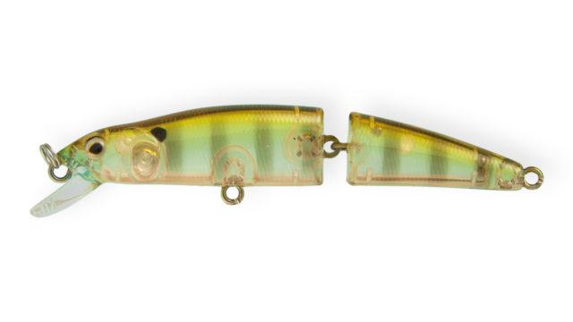 Воблер составной Strike Pro Minnow Jointed SM90 A68G (MG-008F#A68G, 90 мм, 8.6 гр, плавающий, 0.5-1 м)
