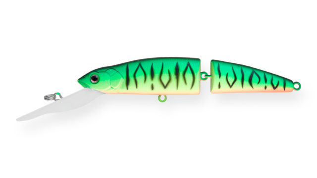 Воблер составной Strike Pro Mr. Wiggly TL110 GC01S (MG-010D#GC01S, 110 мм, 17.2 гр, плавающий, 4-5 м)