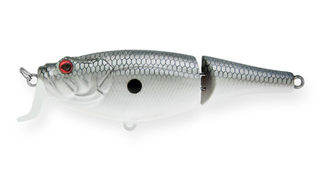 Воблер составной Strike Pro Cranckee Bass Joint 80 SM37F (SH-003AJ#SM37F, 80 мм, 12.5 гр, плавающий, 0.5-1.5 м)