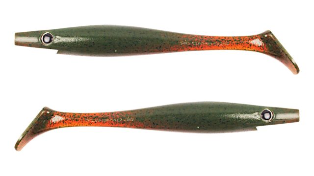 Мягкая приманка Strike Pro Pig Shad Jr C017 (SP-172C#C017, 200 мм, 50 гр, тонущий)