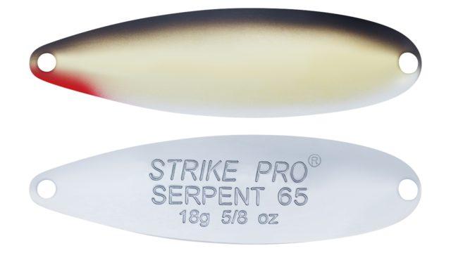Блесна Strike Pro Serpent Treble 65H A010GPE-CP (ST-010A1#A010GPE-CP, 65 мм, 18 гр)