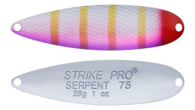 Блесна Strike Pro Serpent Treble 75H A166E-CP (ST-010B2#A166E-CP, 75 мм, 28 гр)