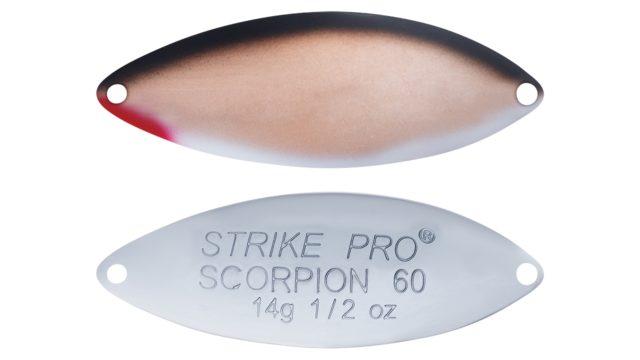 Блесна Strike Pro Scorpion Treble 60M A010KPE-CP (ST-08A#A010KPE-CP, 60 мм, 14 гр)