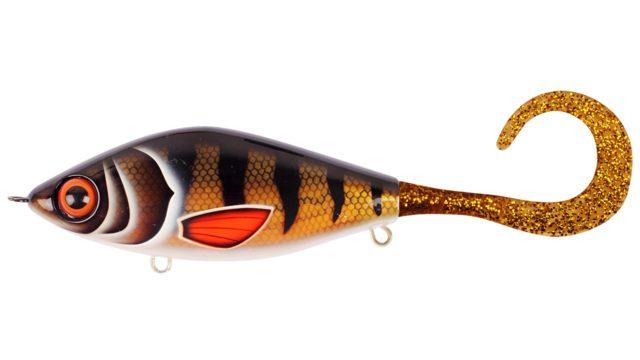 Джеркбейт Strike Pro Guppie Jr shallow Golden Perch - Gold/Gold Glitter 11см 58гр (EG-208AS#TR-003, )