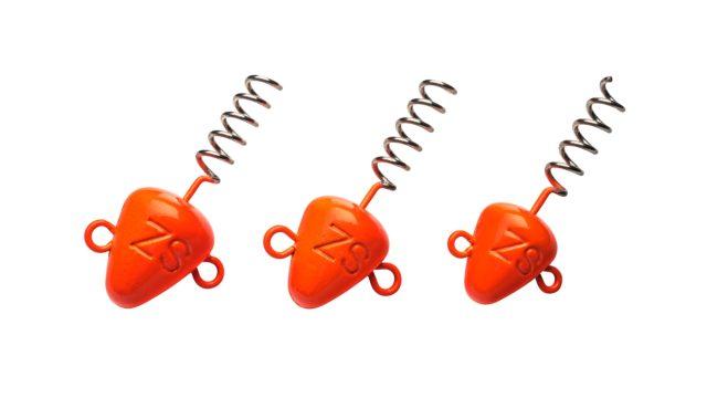 Штопор огруженый Svartzonker Screw-in-head Fl. Orange 20 g - 3 штуки (104307, )