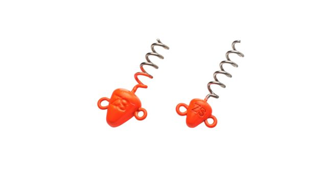 Штопор огруженый Svartzonker Screw-in-head Fl. Orange 30 g - 2 штуки (104312, )