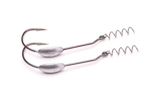 Офсетный крючек огруженный Svartzonker Offset Hook Small 10/0 Zink 7 g 2шт (104400, )