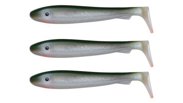 Мягкая приманка Svartzonker McRubber Big Bass C1 (100201, 125 мм, 22 гр, медленно тонущий)