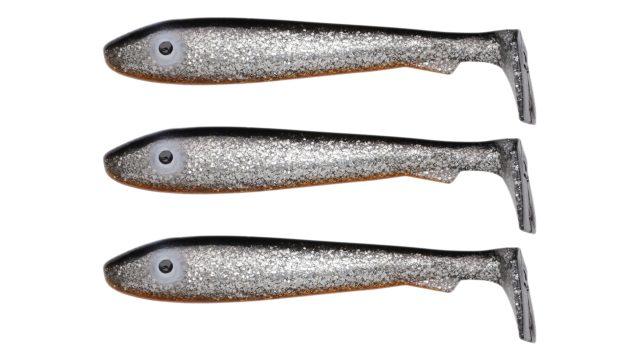 Мягкая приманка Svartzonker McRubber Big Bass C8 (100208, 125 мм, 22 гр, медленно тонущий)