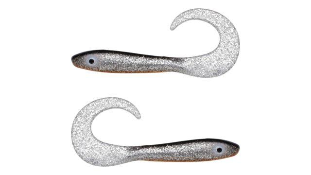 Мягкая приманка Svartzonker McRubber Tail 23 C8 (102908, 230 мм, 36 гр, медленно тонущий)