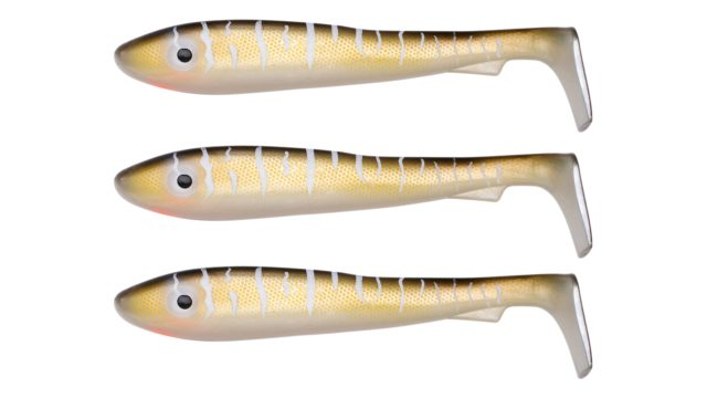 Мягкая приманка Svartzonker McRubber Big Bass C9 (100209, 125 мм, 22 гр, медленно тонущий)