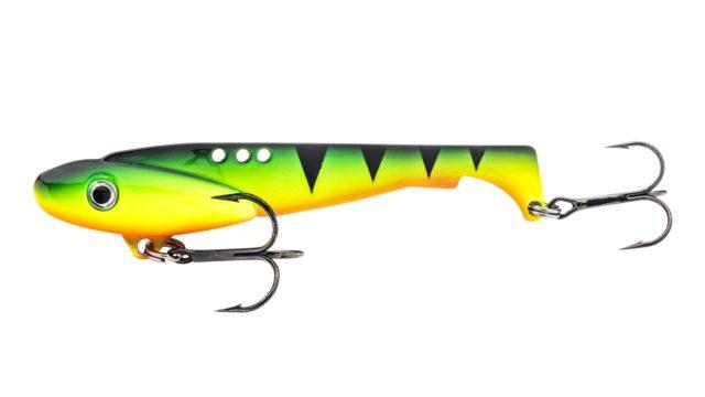 Блесна-цикада Svartzonker Vibrating Predator Firetiger (106702, 120 мм, 40 гр, быстро тонущий)