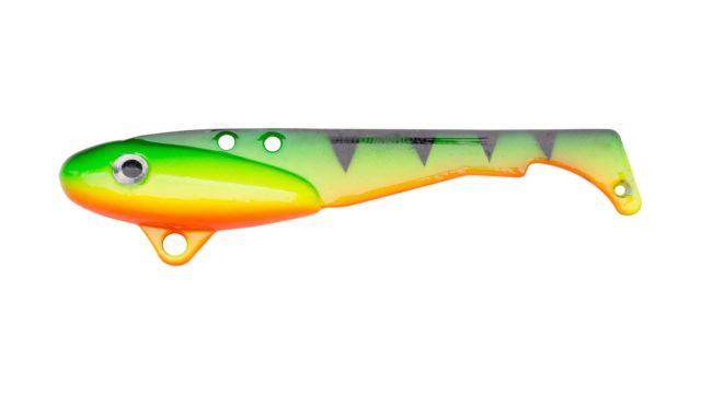 Блесна-цикада Svartzonker Vibrating McBass Firetiger (106602, 70 мм, 18 гр, быстро тонущий)