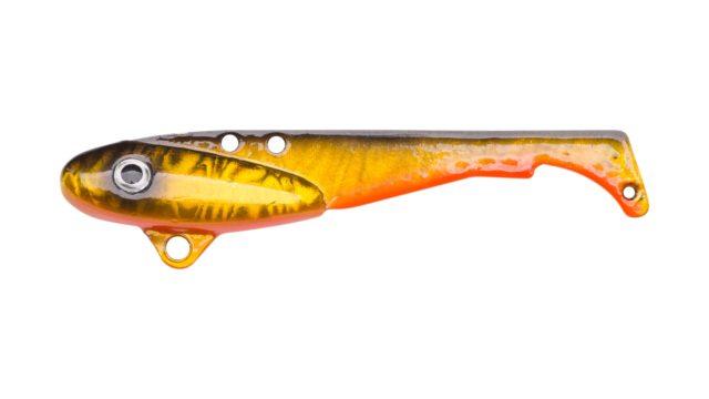 Блесна-цикада Svartzonker Vibrating McBass Golden Roach (106605, 70 мм, 18 гр, быстро тонущий)