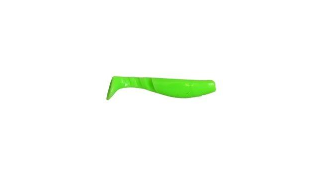 Виброхвост Takedo TKS01 10см. D019 салатовый-светящийся(5 шт) (TKS01#D019, )