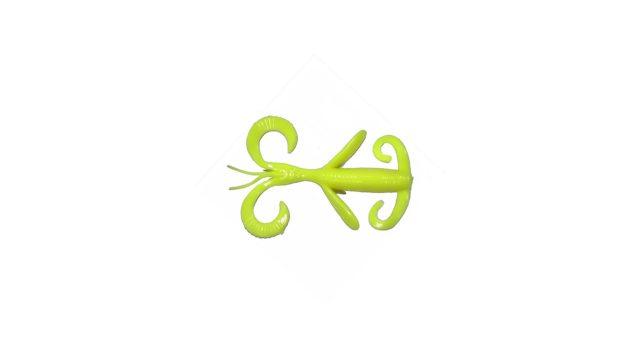Каракатица Takedo TKS45 10см. D007 лимонный(5 шт) (TKS45#D007, )