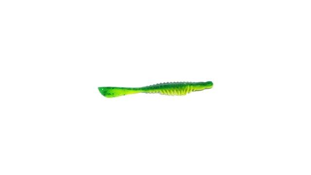 Слаг Takedo TKS3115 10,0см. цвет К017 зеленый с разноцвет.бл./лимонный(5 шт) (TKS3115#K017, )