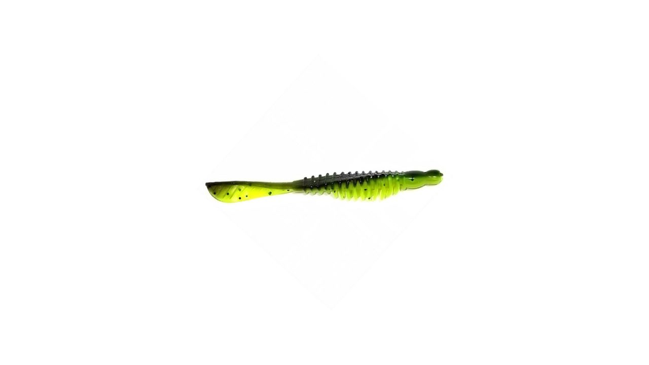 Слаг Takedo TKS3115 10,0см. цвет К057 зеленый/лимонный с перцем(5 шт) (TKS3115#K057, )