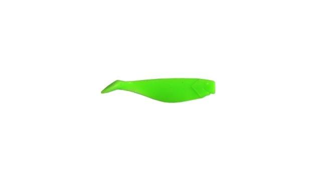 Виброхвост Takedo TKS36 6см. D019 салатовый-светящийся(10 шт) (TKS36#D019, )