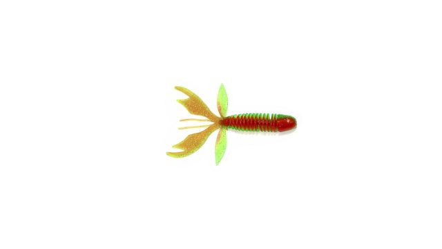 Твистер Takedo TKS47 7,5см. S057 красный/зеленый с серебр.бл.(15 шт) (TKS47#S057, )