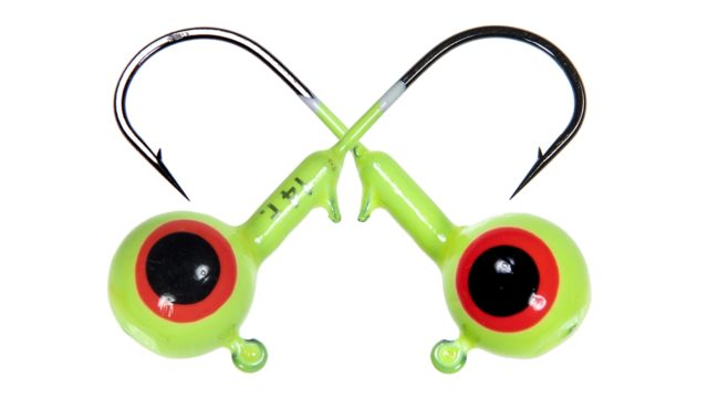 Джиг шар Strike Pro крашеный с глазами 1,75гр кр. №2 10шт лимонный (PJH-02#LEMON, )