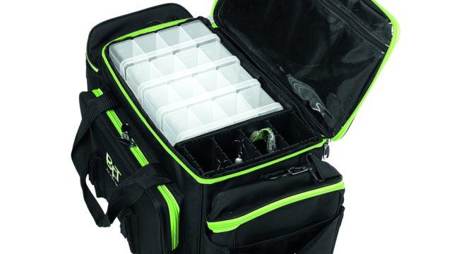 Сумка BFT Predator Bag - Jerkbait для джеркбейтов с 5 коробками, размер 65x34x40см (11-BFT-BAG1, )
